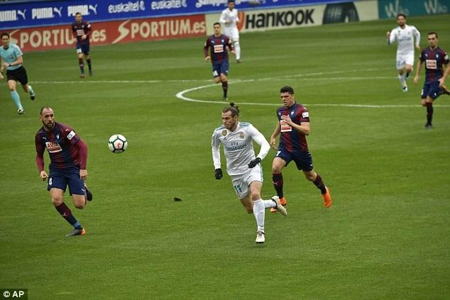 Bale đang đạt phong độ cao cùng Real Madrid