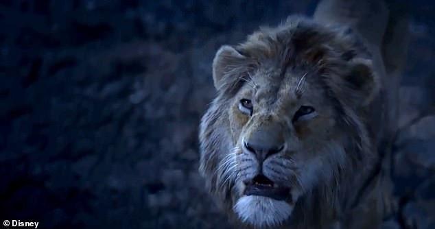"Cảnh trong trailer ""The Lion King""."