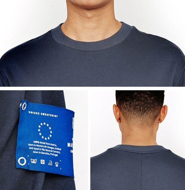 Thiết kế của áo khá đơn giản, nhưng có thêm phần đêm cánh tay có thể gắn thêm nếu muốn - Ảnh từ Blue Ben
