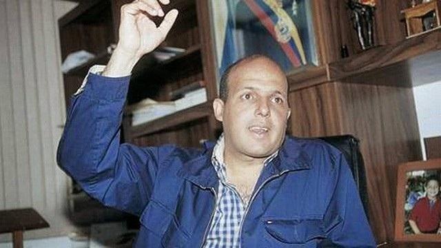 Ông Alejandro Andrade từng là vệ sĩ của cựu Tổng thống Hugo Chávez trước khi được nâng đỡ lên làm giám đốc kho bạc Venezuela.