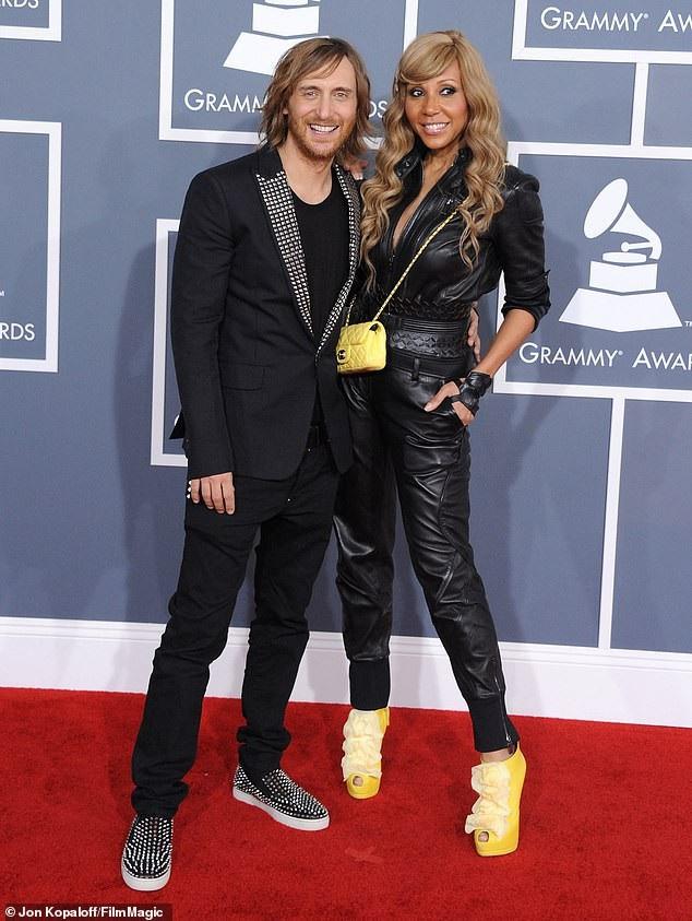 Guetta và vợ Cathy Lobé, anh đã chi trả cho vợ 15 triệu USD sau ly dị