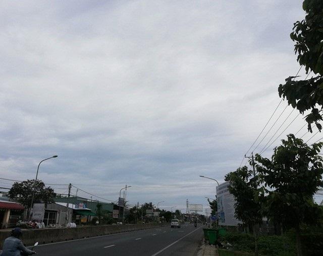 Thời tiết ngày 24/11 tại Bạc Liêu nhiều nơi có mưa nhẹ, trời âm u, có nhiều mây, gió nhẹ... (Ảnh: Huỳnh Hải)