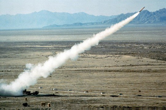 Tháng 11-1983, Mỹ từng triển khai tên lửa hành trình BGM-109G Gryphon đến châu Âu. Ảnh: Unredacted