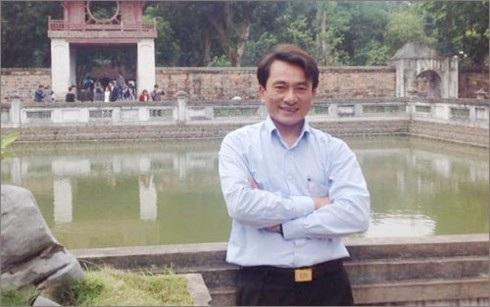 Thầy giáo Trần Trung Hiếu.