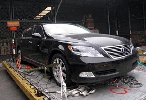 Đông chuyên dùng xe ôtô Lexus nhập khẩu từ nước ngoài để lừa đảo.