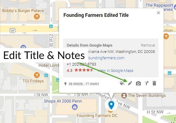 Người dùng có thể gợi ý thay đổi thông tin trên Google Maps. Mặc dù công đoạn này sau đó sẽ được kiểm tra kỹ lưỡng, nhưng vẫn có khả năng để sót.