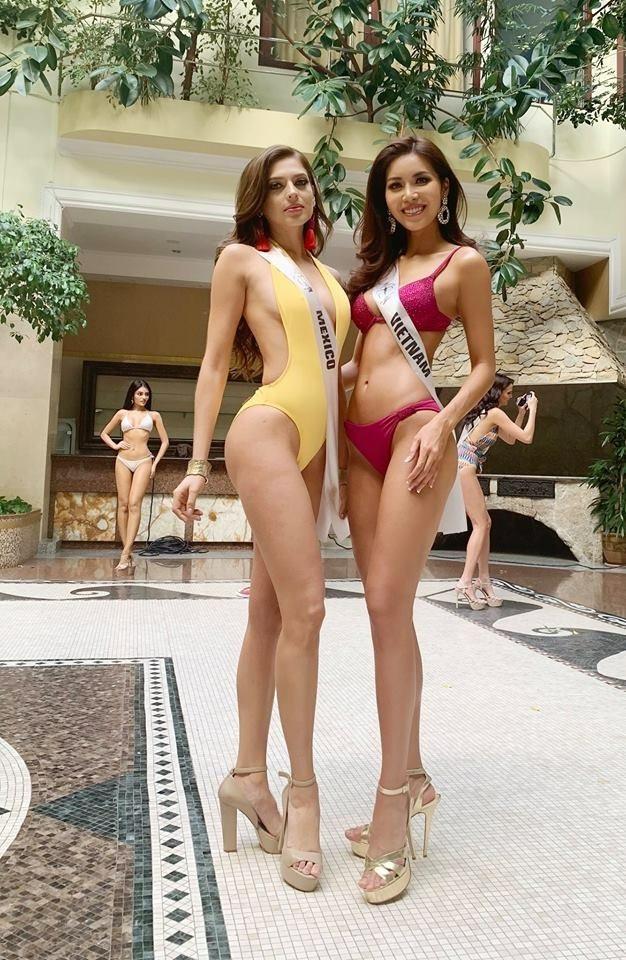 Minh Tú toả sáng khi trình diễn bikini bốc lửa ở bán kết Miss Supranational - 3
