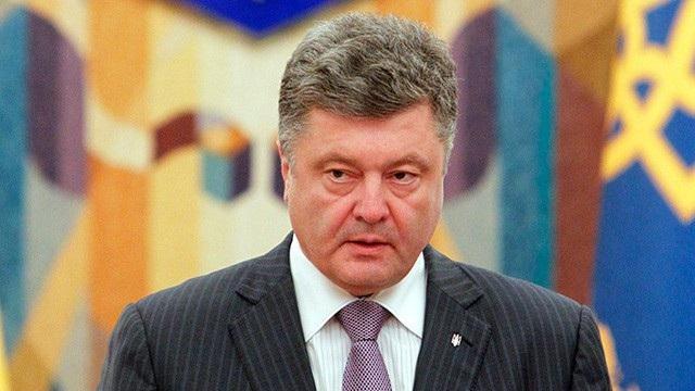 Tổng thống Ukraine Petro Poroshenko (Ảnh: Reuters)