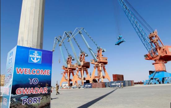 Cảng Gwadar ở Pakistan. (Ảnh: Reuters)