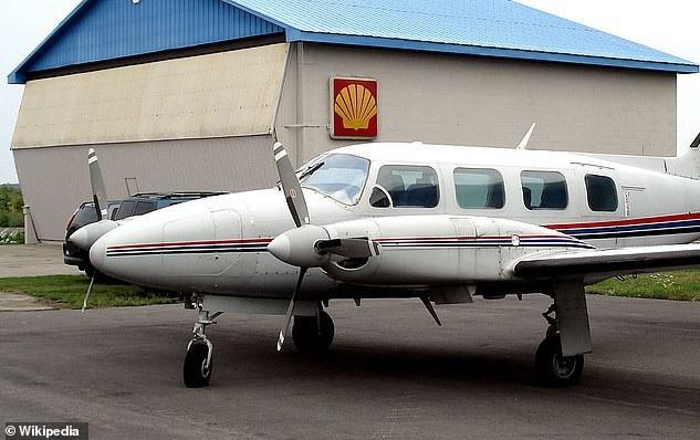 Piper PA-31 Navajo VH-TWU (Ảnh: Wikipedia)