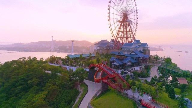 Tổ hợp vui chơi giải trí đẳng cấp Sun World Halong Complex.