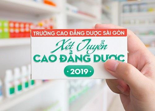 Tuyển sinh Cao đẳng Dược Sài Gòn hệ chính quy năm 2019 - 1