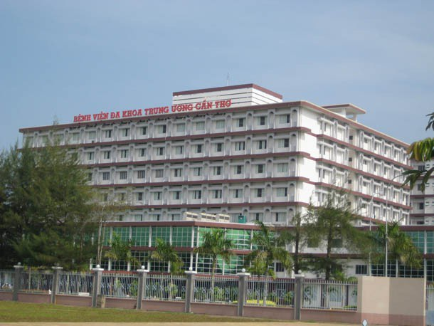 Bệnh viện Đa khoa Trung ương Cần Thơ.