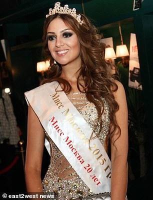 Cô dâu từng là cựu hoa hậu Moscow năm 2015 (Ảnh: East2west)