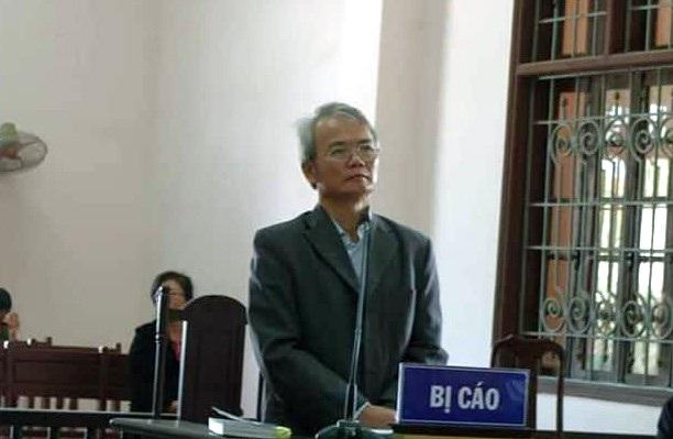 Bị cáo Dương Quang Hợp.