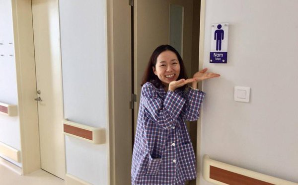 Thái độ lạc quan của Bảo Yến đang truyền cảm hứng cho nhiều bệnh nhân ung thư khác