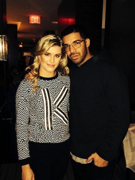 Eugenie Bouchard là bạn thân của Drake