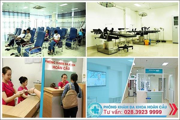 Môi trường y tế hiện đại – chuyên nghiệp tại Phòng Khám Đa Khoa Hoàn Cầu