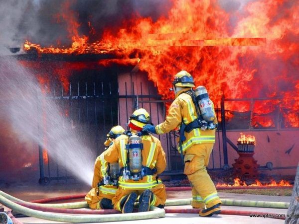 Lính cứu hỏa có nguy cơ mắc nhiều loại ung thư.