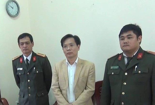 Ông Phan Tiến Diện, nguyên Phó Chủ tịch UBND huyện Sơn La bị bắt giữ trong vụ án Thuỷ điện Sơn La.