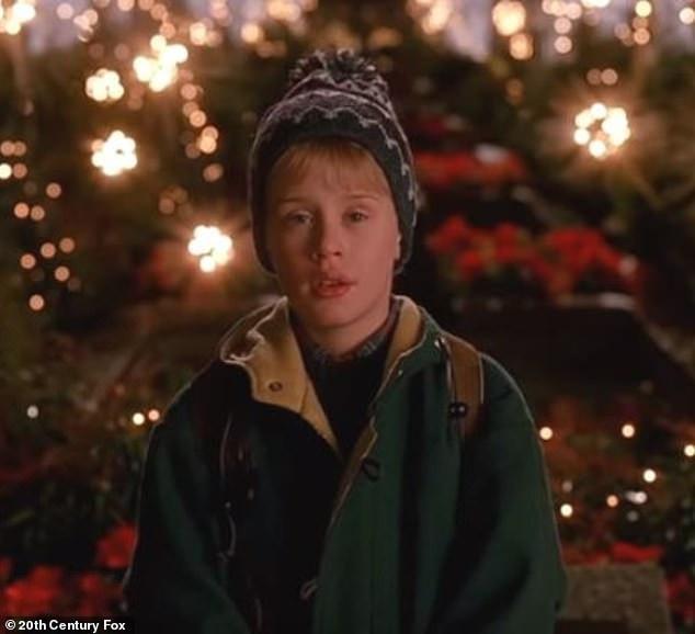 Macaulay Culkin trong phim Ở nhà một mình