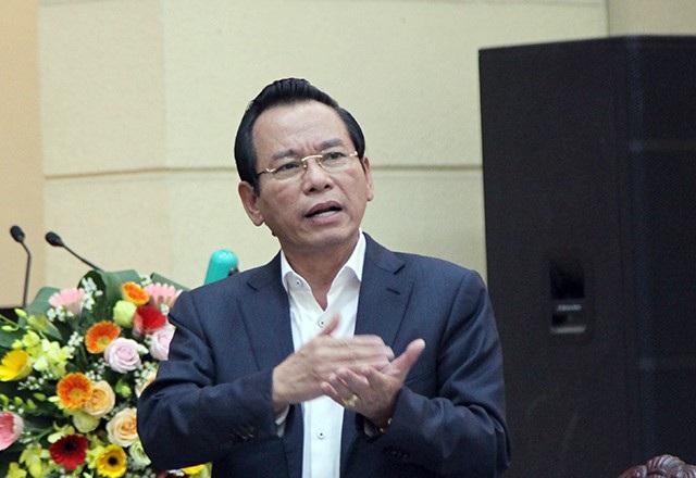 Ông Vũ Hồng Khanh - Chủ tịch Ủy ban MTTQ TP Hà Nội