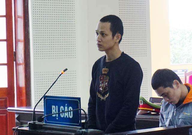Bị cáo Nguyễn Hữu Thu.