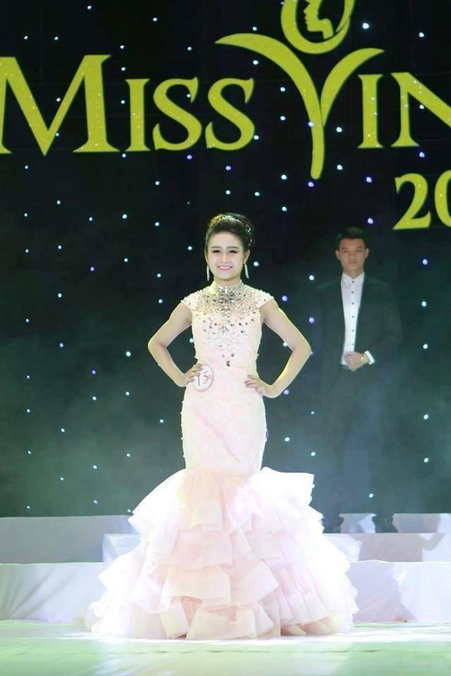 Nàng hoa khôi này từng thi Miss Vinh 2014.