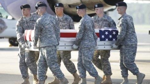 Bình sĩ Mỹ thiệt mạng tại Afghanistan. Ảnh: AP.