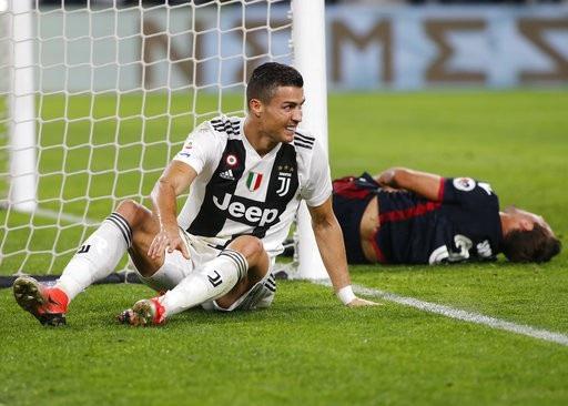 C.Ronaldo đều đặn ghi bàn hoặc kiến tạo trong những trận đấu vừa qua của Juventus ở Serie A