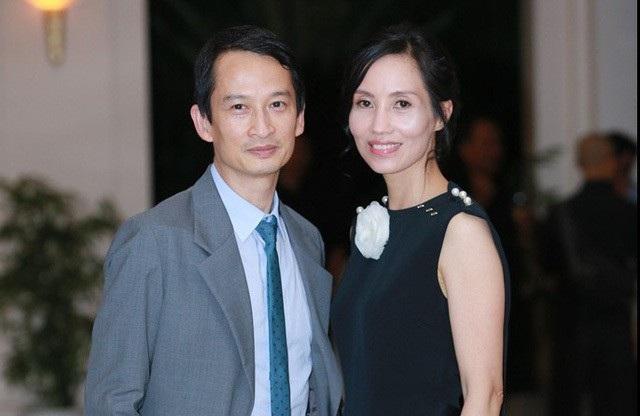 Trần Nữ Yên Khê và chồng - đạo diễn tên tuổi Trần Anh Hùng