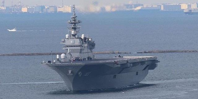 Tàu sân bay trực thăng Kaga của Nhật Bản (Ảnh: Wikimedia)