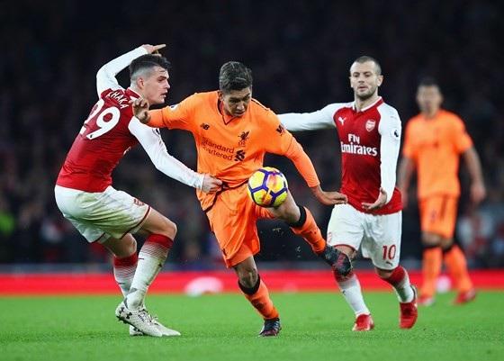 Xhaka đã thi đấu tốt trong trận đấu với Liverpool