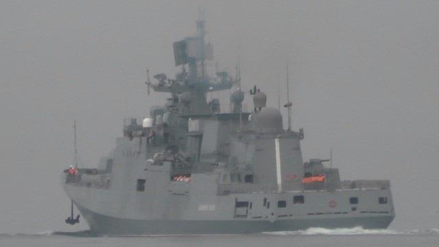 Tàu Đô đốc Makarov (Ảnh: Almasdar News)