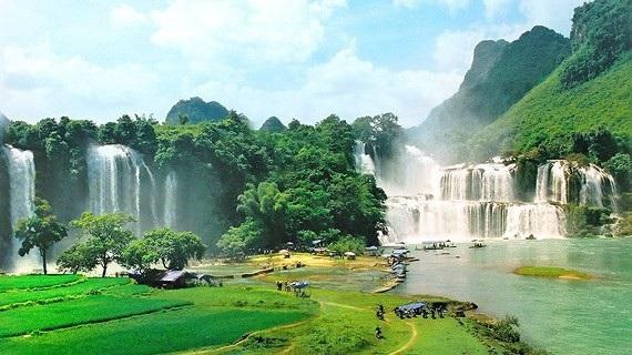 Thác Bản Giốc nằm trong Công viên địa chất toàn cầu UNESCO.