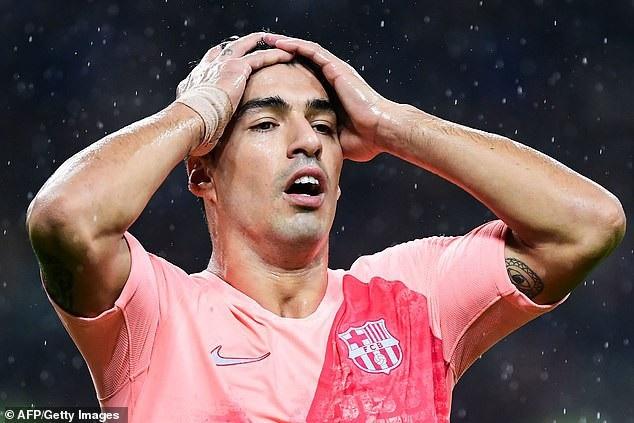 Luis Suarez tiếc nuối cơ hội bỏ lỡ