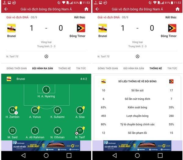 Ứng dụng hữu ích giúp theo dõi lịch thi đấu AFF Cup trên smartphone - 2