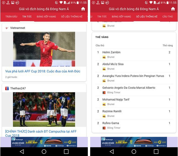 Ứng dụng hữu ích giúp theo dõi lịch thi đấu AFF Cup trên smartphone - 4