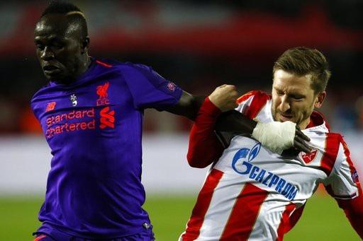 Liverpool thi đấu bế tắc trước Red Star Belgrade