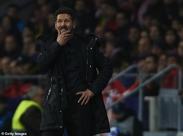 HLV Diego Simeone tự tin trong cuộc tái đấu Dortmund ở Metropolitano