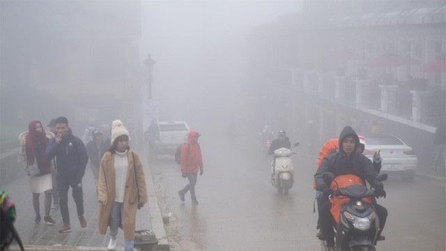 Không khí lạnh bao trùm miền Bắc, vùng núi chuyển rét. (Ảnh minh họa: Nguyễn Dương).