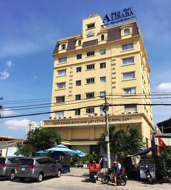 Công ty Cổ phần Địa ốc Alibaba tại TPHCM. Ảnh: Đại Việt