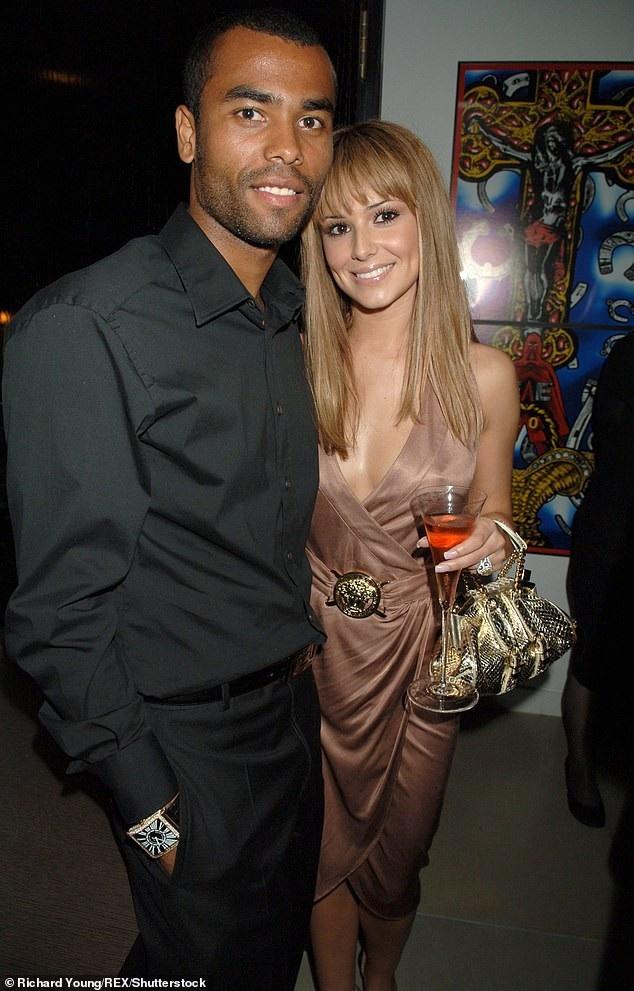 Cheryl trong cuộc hôn nhân đầu với cầu thủ Ashley Cole