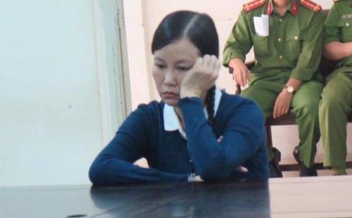 Bị cáo Phùng Mỹ Giang tại phiên tòa