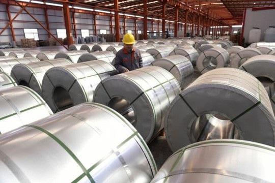 Bộ Thương mại Mỹ hôm 7-11 tuyên bố sẽ áp thuế chống bán phá giá và chống trợ cấp cuối cùng lên các sản phẩm nhôm tấm hợp kim phổ biến của Trung Quốc. Ảnh: Reuters