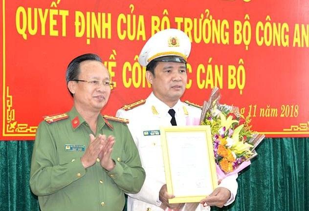 Điều động, bổ nhiệm nhân sự Bộ Công an - 1