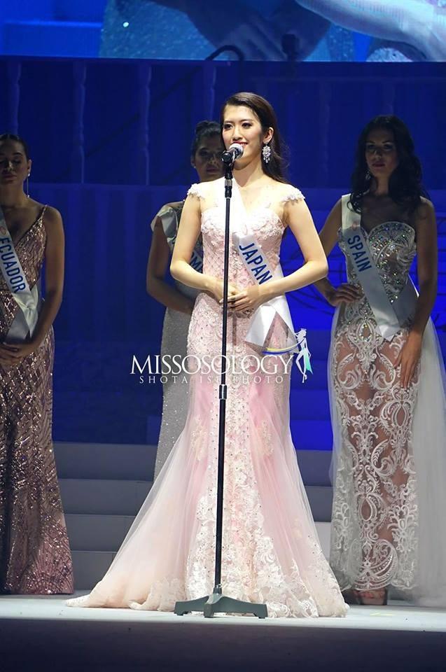 Hoa hậu chủ nhà Nhật Bản Hinano Sugimoto lọt top 8