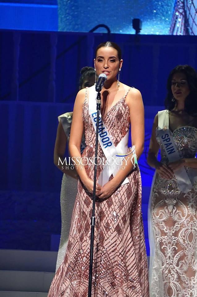 Top 8 còn có người đẹp Ecuador - Michelle Huet