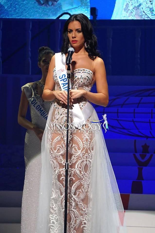 Người đẹp Tây Ban Nha Susana Sanchez lọt top 8