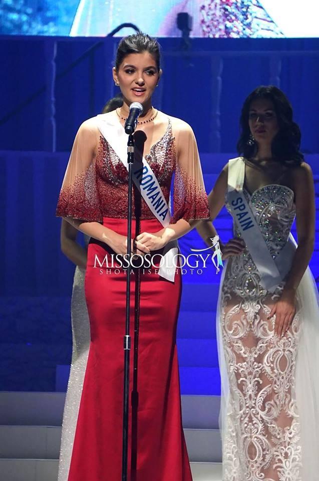 Á hậu 3 - người đẹp Romania – Bianca Tirsin